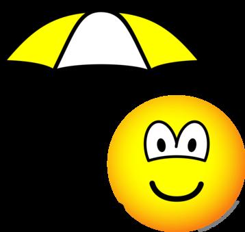 Paraplu emoticon