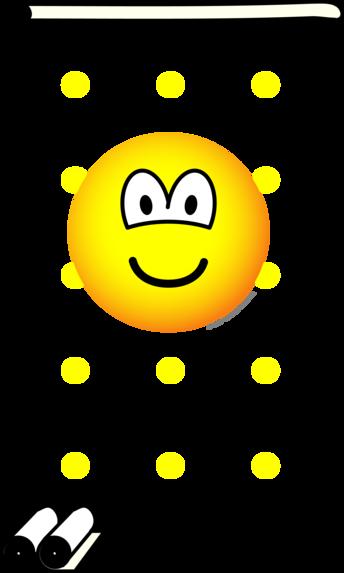 Behangen emoticon