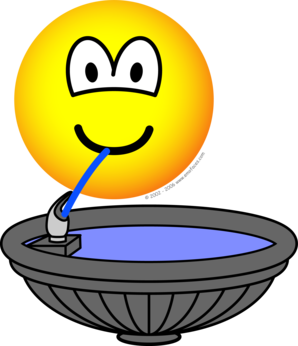 Water fontein emoticon