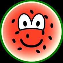 Watermeloen emoticon
