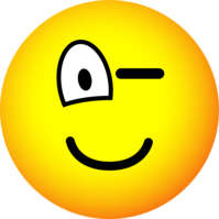 Knipoog emoticon