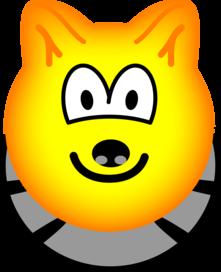 Wolf emoticon