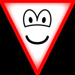 Waarschuwings emoticon