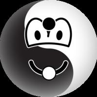 Ying Yang emoticon