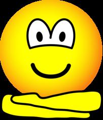 Yoga emoticon