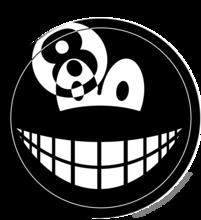 Achtbal smile