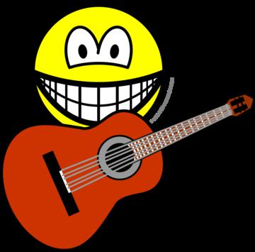 Akoestische gitaar smile
