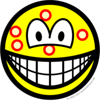 Acne smile