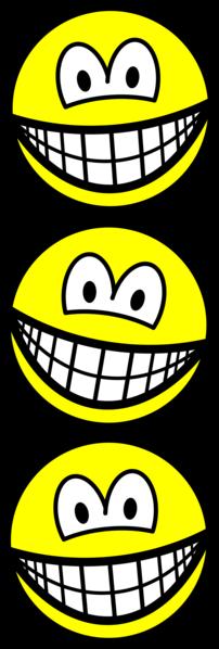 Acrobaten smile