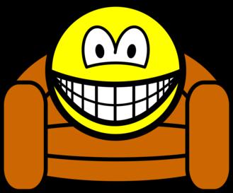 Luie stoel smile smilies for Luie stoel