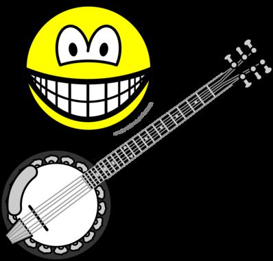 Banjo bespelende smile