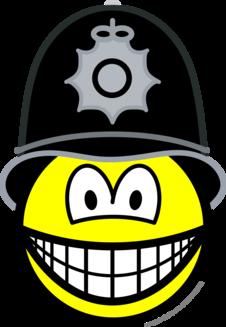 Engelse bobby smile