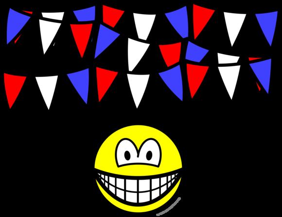 Vlaggetjes smile