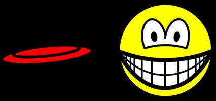 Frisbee smile