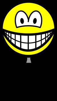Vergrootglas smile