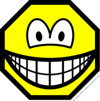 Achthoekige smile