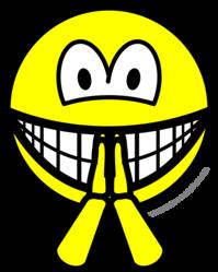 Biddende smile